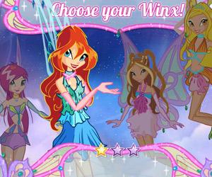 Игры для девочек бродилки Винкс по Алфее