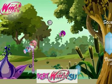 Игра Винкс Мыльные пузыри – помогите Пикси спастись в волшебном пузыре http://vinks-game.com