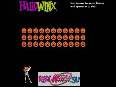 Помогите Блум спастись от бешенных тыкв в игре Винкс «Магическая атака» http://vinks-game.com