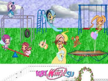 Игровая площадка Пикси